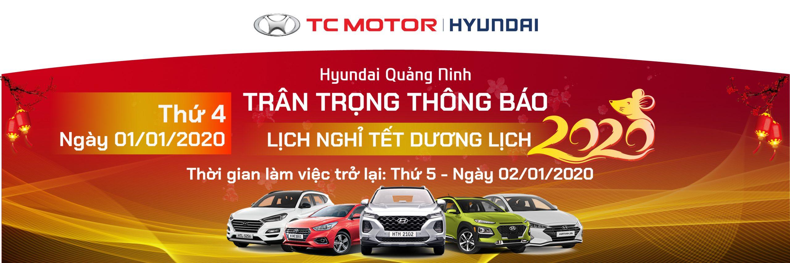 Hyundai Quảng Ninh Nghỉ tết